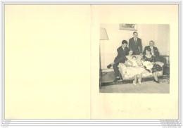 CDV Et Autographe De Armand Thiery Et Sa Famille De GINESTET PUIVERT En 1960 A Paris Avenue Foch - Cartes De Visite