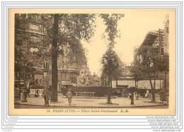 75017 - PARIS - Place Saint Ferdinand - Arrondissement: 17
