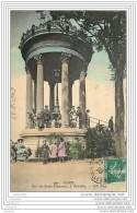 75019 - PARIS - Belle Animation Devant Le Belvedere Du Parc Des Buttes Chaumont (couleur) - Arrondissement: 19