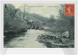 77 - VILLENEUVE SUR BELLOT - La Fabrique D'Optique (cachet Ambulant De La Ferte Ss Jouarre A Villeneuve S/ Bellot) - Autres Communes