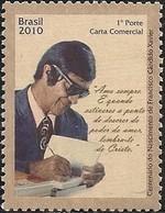 BRAZIL - BIRTH CENTENARY OF FRANCISCO CÂNDIDO XAVIER (1910-2002), MEDIUM 2010 - MNH - Brazil