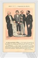Syndicalisme De La Poste P.T.T. - Compression Des Effectifs (theme D'actualite...) - Illustre Par Morer - Syndicats