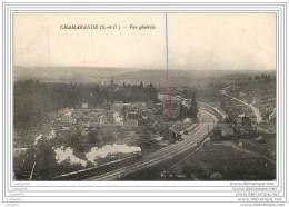 91 - CHAMARANDE - Vue Generale - Train Sur La Ligne De Chemin De Fer - Autres Communes