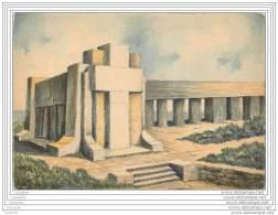 Illustrateur Barday - Barre  Dayez -  10x15 Cm - Verdun Monument Tranchee Des Baionnettes - Barday