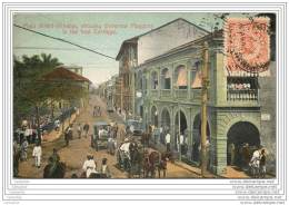 PANAMA - Main Street Panama Showing Governor Maggoon In The First Carriage - Panama