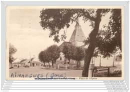 18 - FARGES EN SEPTAINE - Place De L'eglise (franchise Militaire 1940) - France