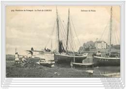 22 - Le Port De LOGUIVY - Bateaux De Peche (belle Carte) - Autres Communes