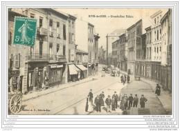 42 - RIVE DE GIER - Grande Rue Feloin (animee) - Rive De Gier