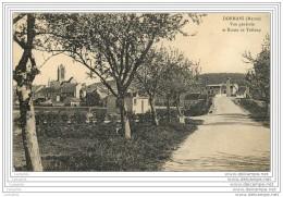 51 - DORMANS - Vue Generale Et Route De Treloup - Dormans