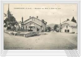 63 - CHABRELOCHE - Monument Aux Morts Et Route De Lyon - France