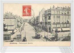 67 - STRASBOURG - Faubourg De Saverne - Tramway - Strasbourg