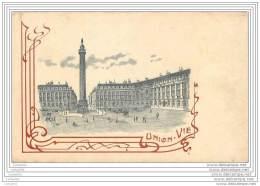 75 - PARIS - Assurances UNION-VIE - 9 Place Vendome - Autres
