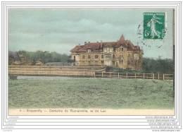 78 - ECQUEVILLY - Domaine De Romainville Vu Du Lac (couleur) - Andere Gemeenten
