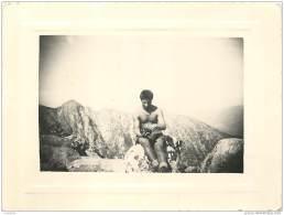 Jeune Homme Muscle Torse Nu Maillot De Bain 1947/1948 Petit Ami Calvi Corse - Sexy Beauty Male Semi Nude - GAY INTEREST - Pin-ups