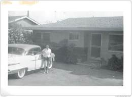 Photo Ancienne D'une Automobile Pontiac A Determiner - Non Datee (annees 50/60), Non Situee - Automobile