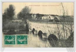 51 - VITRY LE FRANCOIS - L'acqueduc Du Canal Sur La Saulx - Vitry-le-François