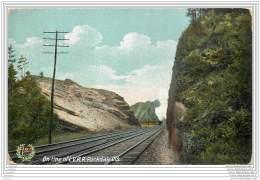 USA - On Line Of L.V.R.R. Rockdale Cut. - Railway - Long Island