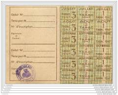 Carte De Tabac 1947 Neuve - Non Classés