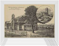 62 - MONT DE LORETTE - La Chapelle - Eglise D Ablain St Nazaire (dessin A La Plume) - Frankrijk