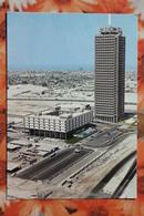 United Arab Emirates DUBAI - Old Postcard 1970s / Tallest Building In 1970s / Hilton - United Arab Emirates