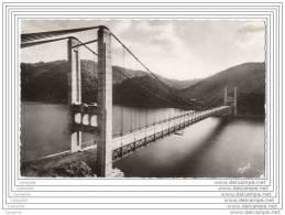 19 - Barrage De L Aigle - Pont Suspendu De St Projet (cpsm 9x14) - France