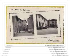 69 - LARAJASSE - 3 Cpsm 9x14 - Place De L Eglise - Place De La Mairie / Pensionnat - Chateau De La Fay - Non Classés