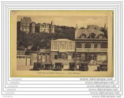 76 - VEULES LES ROSES - Place Melingue (tacots) - Veules Les Roses