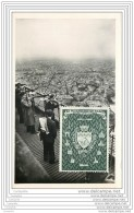 75007 - PARIS - Tour Eiffel 3eme Etage - Les Telescopes - Vignette Du Bi-Millenaire De Paris -50 1950 - District 07
