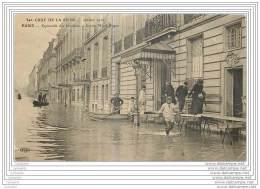 75006 - PARIS - Crue De La Seine - Esplanade Des Invalides - Ancien Hotel Sagan - Arrondissement: 07