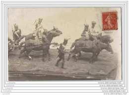 2 CPA Photo - Miniature Ou Sculpture Militaire - Par Un Certain Salinier Ou Salvinier - Uniformes