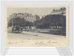 75008 PARIS - Rond Point Des Champs Elysees Avec Arroseur Public - Distretto: 08