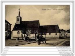 77 - EVERLY - L Eglise (animee Attelage) - Non Classés