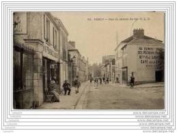 77 - ESBLY - Rue Du Chemin De Fer - Commerce De Vins, Tabac Et Liqueurs - Pub Menier - Esbly