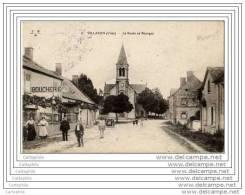 18 - VILLABON - Route De Bourges (animee Boucherie) - Non Classés