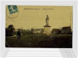 12 - MALEVILLE - Vierge Du Foiral (belle Cpa Glacee En Couleur) - Francia