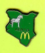 Pin's Mac Do McDonald's Kenya Vert Zèbre - 1M11 - McDonald's