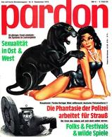 Pardon Zeitschrift - Das Satirische Magazin Nr. 9 Von 1979  -  Die Phantasie Der Polizei Arbeitet Für Strauß - Zeitungen & Zeitschriften