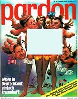 Pardon Zeitschrift - Das Satirische Magazin Nr. 10 Von 1976  -  Leben In Deutschland : Einfach Traumhaft! - Zeitungen & Zeitschriften