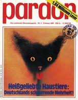 Pardon Zeitschrift - Das Satirische Magazin Nr. 2 Von 1980  -  Heißgeliebte Haustiere : Deutschlands - Zeitungen & Zeitschriften