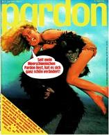 Pardon Zeitschrift - Das Satirische Magazin Nr. 7 Von 1978  -  Mein Meerschweinchen Liest Pardon - Zeitungen & Zeitschriften