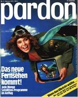 Pardon Zeitschrift - Das Satirische Magazin Nr. 2 Von 1978  -  Das Neue Fernsehen Kommt! - Zeitungen & Zeitschriften