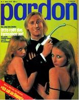Pardon Zeitschrift - Das Satirische Magazin Nr. 3 Von 1978  -  Otto Rollt Das Fernsehen Auf - Zeitungen & Zeitschriften