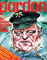 Pardon Zeitschrift - Das Satirische Magazin Nr. 8 Von 1977  -  Die Großen Aus Bonn In 20 Jahren - Zeitungen & Zeitschriften