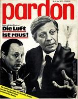 Pardon Zeitschrift - Das Satirische Magazin Nr. 6 Von 1977  -  Bonn Hält Den Atem An : Die Luft Ist Raus! - Zeitungen & Zeitschriften