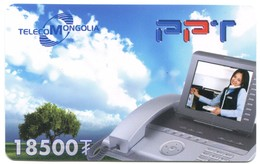Telecom Mongolia - PPT Device (Prepaid Card) - Mongolia