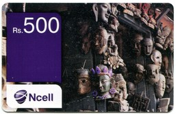 NP-NCE-REF-0002A Nepal - Ncell Recharge Card - Market 500 Rs - Nepal