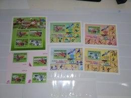 Ivory Coast  2005  Olympic Summer Games Peking 2008 1452-1455 Bl 157-160 - Ivory Coast (1960-...)