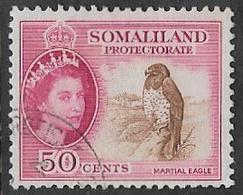 Somaliland Protectorate SG143 1953 Definitive 50c Good/fine Used [20/18973/2D] - Somaliland (Protettorato ...-1959)