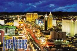 Las Vegas By Night, Nevada, USA Unused - Las Vegas