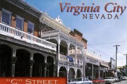 C Street, Virginia City, Nevada, USA Unused - United States